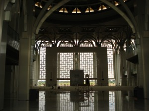 The main prayer hall